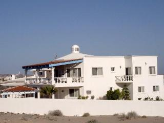 Side view of the beach house