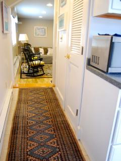 Entrance to Living Area from Kitchenette