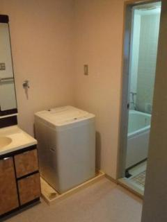 Washroom & Laundry space