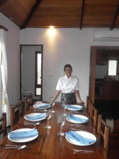 Chef Service - Have a lovely meal cooked in the privacy of your Villa!