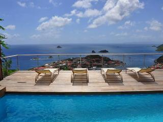 Charming villa with spectacular views over Gustavia WV MOU, Lurin
