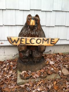 Our WELCOME bear