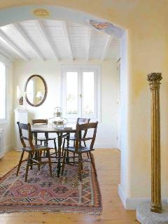 House of the Sun dining room with authentic Gateleg table