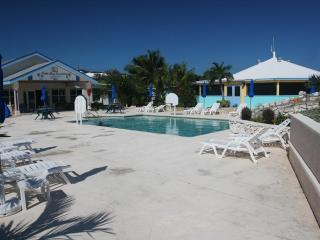Pool area at Palm Bay