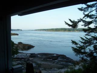 One view from the Cottage porch.