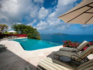 Luxury 5 bedroom Tortola, BVI villa. Private 8-acre hilltop estate with 300-degree bird's-eye view!, Belmont