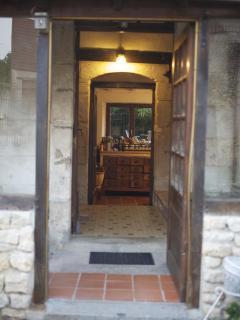 View through to the Farmhouse Kitchen