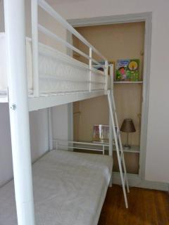 Childrens section of the Manche family suite