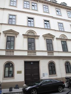 located in a Viennese Biedermeier house