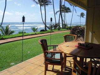 Hale Awapuhi Villa #1D - Ocean Front Condominium, Kapaa