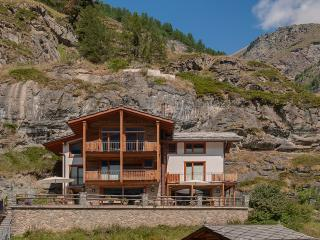 Chalet Ibron Mountain Exposure Zermatt - independent freestanding, sauna