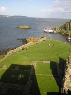 Historic sites along the coastal path