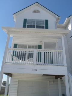 Front of the Townhome
