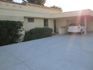 2 car driveway and shaded carport