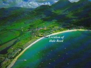 Location Hanalei Bay