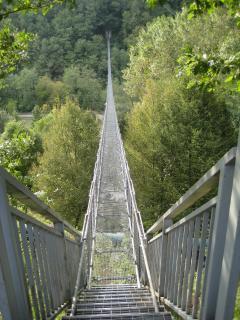 Bridge across the Lima river