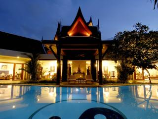 8 bedrooms villa with full service, next to beach, Thalang District