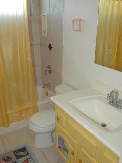 Conch Cottage small bathroom