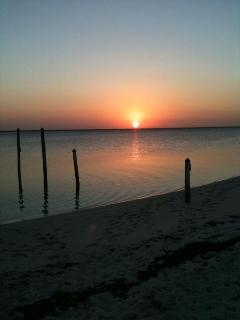 Sunset from the dock