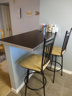 Additional Seating in the Kitchen
