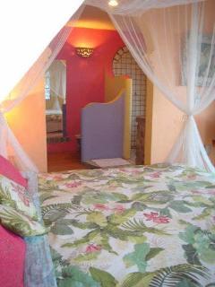 downstairs Moroccan bedroom