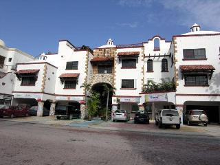 Hacienda San Jose Front of the condo