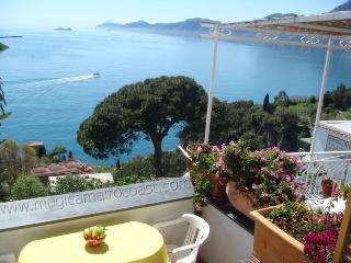 Casa Agata (Il Nido) - magnifique view to Capri, Praiano