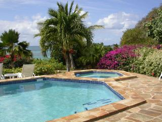 Beach Dreams at Mahoe Bay, Virgin Gorda - Beachfront, Large Fresh Water Pool
