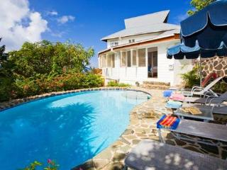 Lovely traditional style Caribbean house, Cap Estate