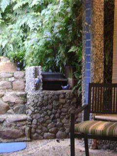 BBQ patio area