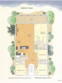 Cottage floorplan (both cottages similar)