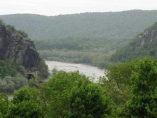 Harpers Ferry gap about 2 miles from home