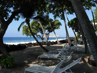 Private Beach at Kona Isle