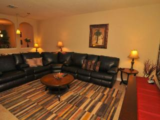 Huge Greatroom With Sleeper Sectional and Large Screen TV !