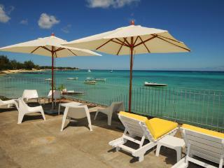 view from terrace Villa Sous le vent