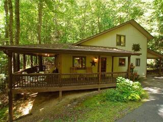 CREEK 'N WOODS I-CREEK - HOT TUB - DECKS-SECLUDED - 5 STAR REVIEWS !!!
