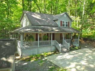 GREAT CABIN- HOT TUB - CREEK - CLEAN - STELLAR REVIEWS !!! - Creek n'Woods II, Maggie Valley