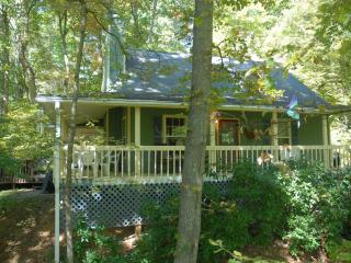 GREAT CABIN - HOT TUB - WATERFALL - STELLAR REVIEWS !!! - Creekn'Woods III, Maggie Valley