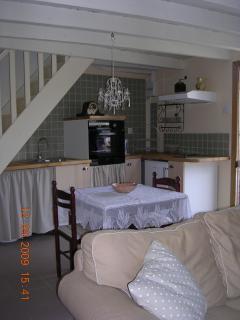 sitting room / kitchen area