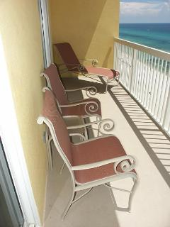 25 Foot Private Balcony