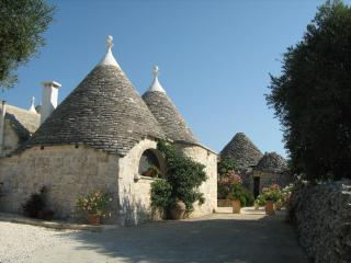 Trullo leading to private courtyard