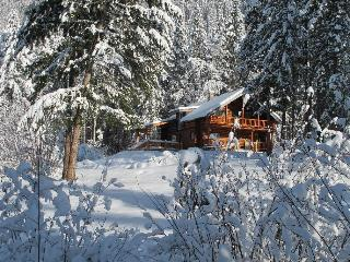 A winter haven when the deep snow falls. Light the wood-burning stove and relax.