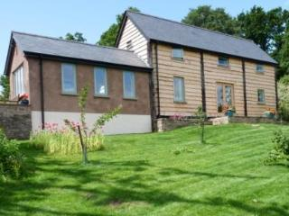 Luxury barn rental in Brecon Beacons National Park