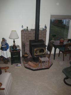wood burning lopi stove