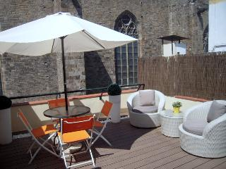PENTHOUSE IN THE GOTHIC QUARTER WITH FREE WIFI, Barcelona
