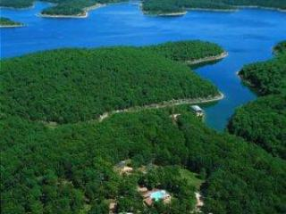 Our Ariel Picture of Norfork Lake in Mountain Home Arkansas