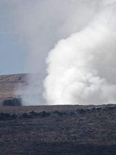 Kilauea Crater in Volcanoes National Park is only minutes away.