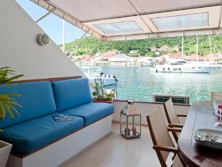 Unique townhouse directly on the harbor near Shell Beach WV JNM2, Gustavia