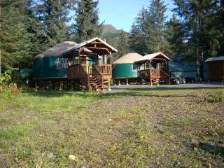 Yurt lodging in Seward -(2) 24ft.Sleeps (6) and (1)30ft. Yurt-sleeps up to (8)