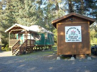 Summer Time- Yurt & Well House with Logo